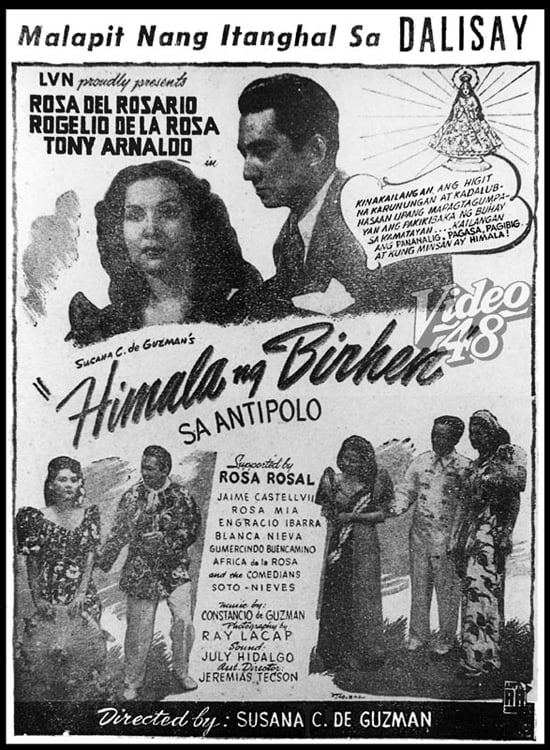 Our Lady of Antipolo's Miracle (1947)