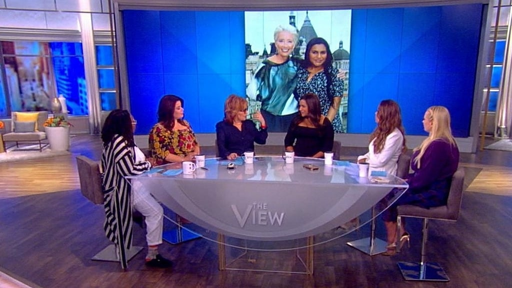 The View Season 22 :Episode 174  Mindy Kaling and Jeff Ross
