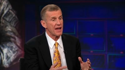 The Daily Show with Trevor Noah Season 18 :Episode 40  Gen. Stanley McChrystal