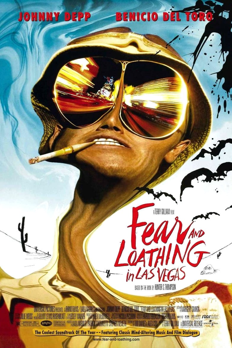the depiction of lsd in fear and loathing in las vegas a movie by terry gilliam Fear and loathing in las vegas is a 1998 american black comedy film directed by terry gilliam, starring johnny depp as raoul duke and benicio del toro as dr gonzo.