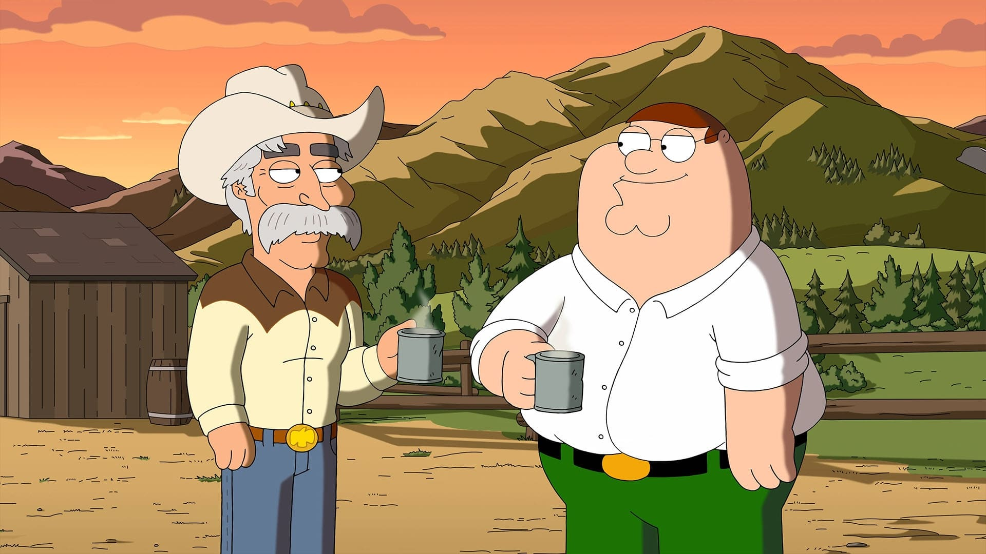 Family Guy Season 19 :Episode 7  Wild Wild West