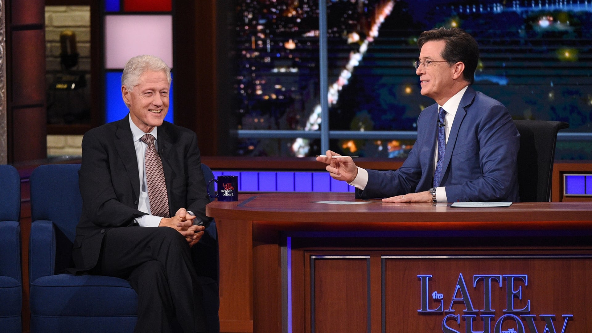 The Late Show with Stephen Colbert Season 1 :Episode 21  Bill Clinton, Billy Eichner, Florence & the Machine
