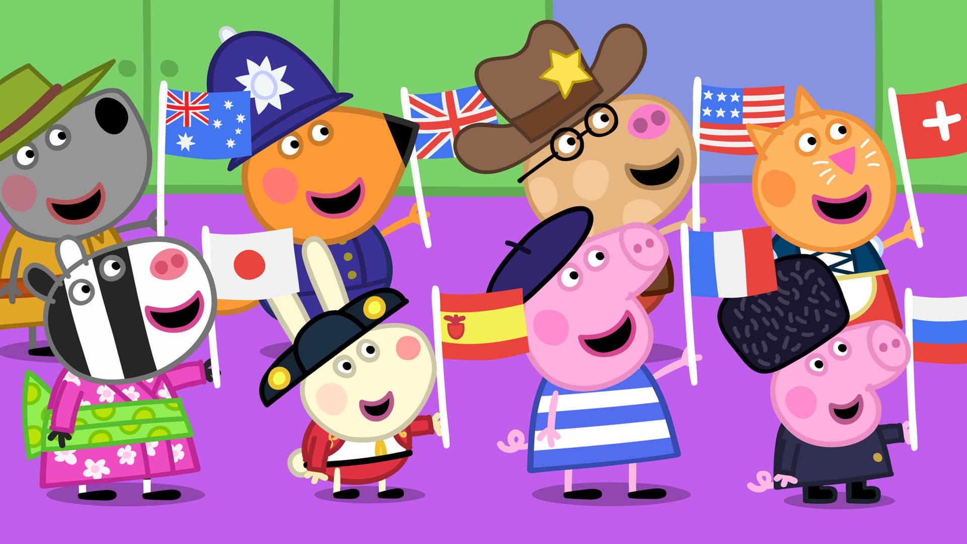 Peppa Pig Season 4 :Episode 8  International Day