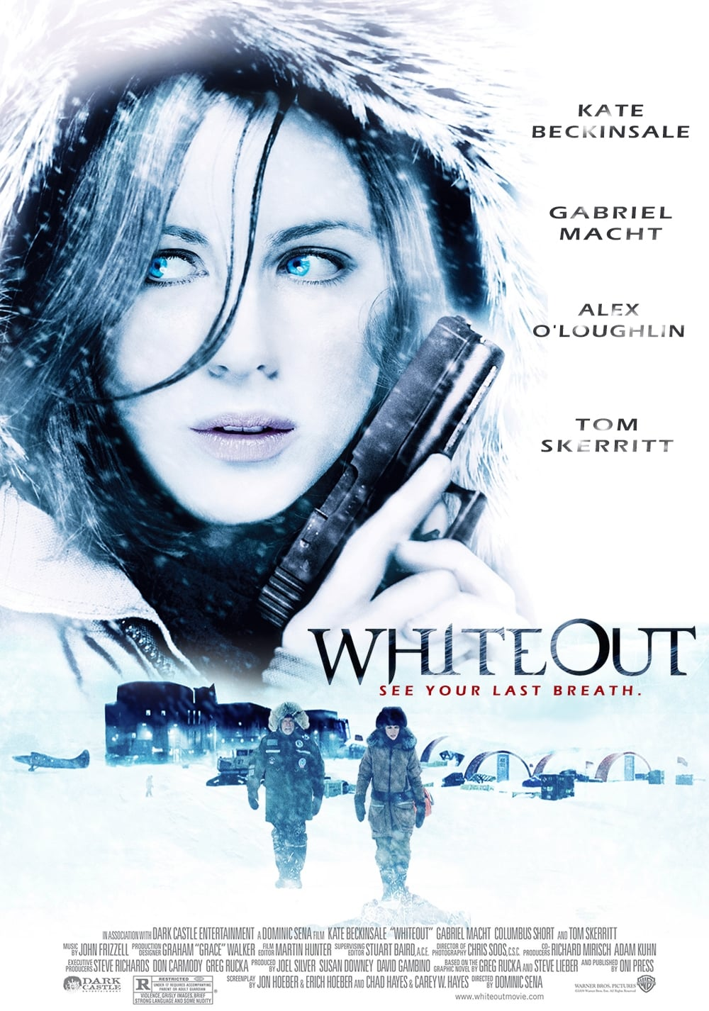 Whiteout (2009) - Posters — The Movie Database (TMDb)
