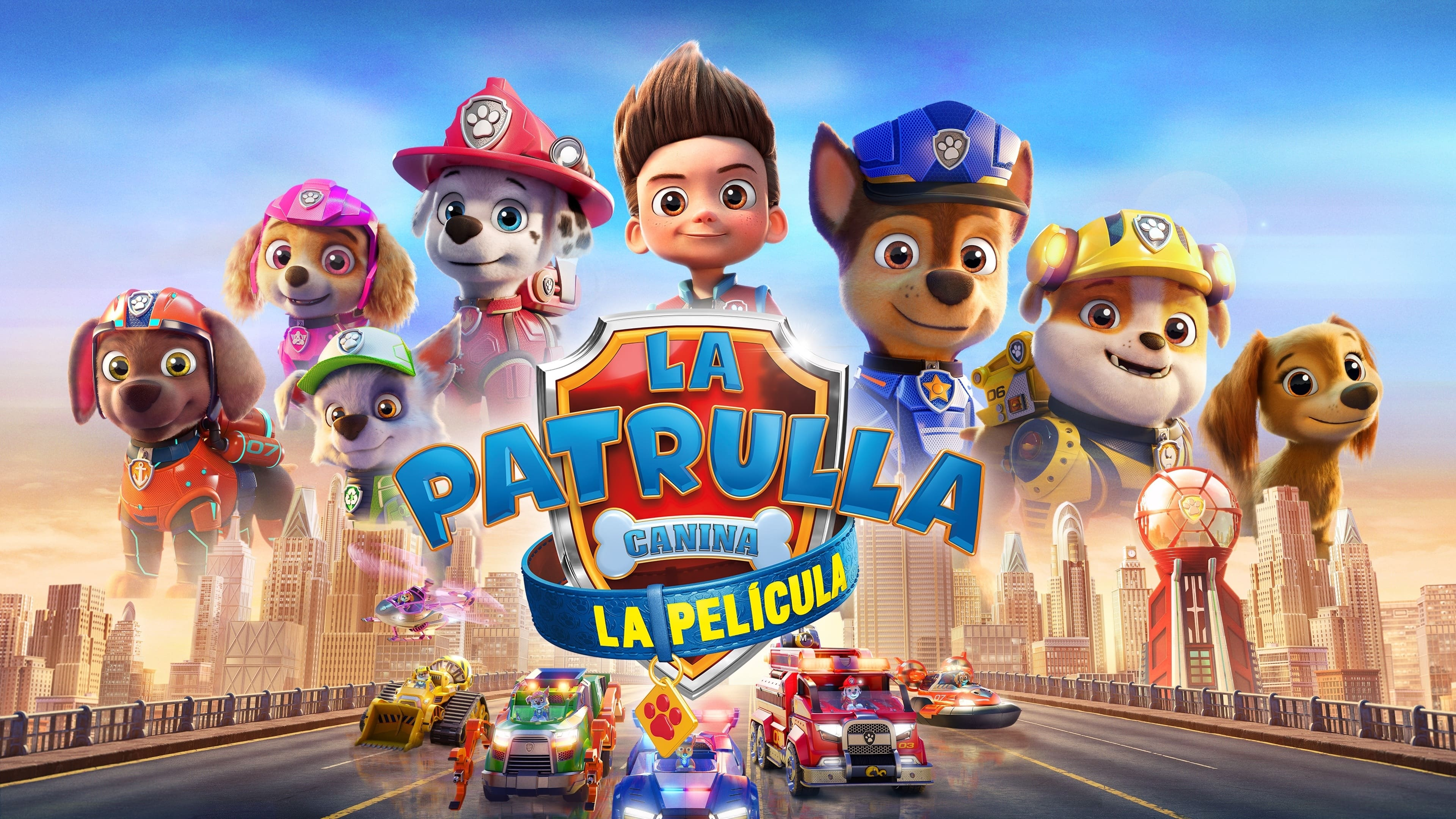 Backgrounds and walpapers PAW Patrol: The Movie