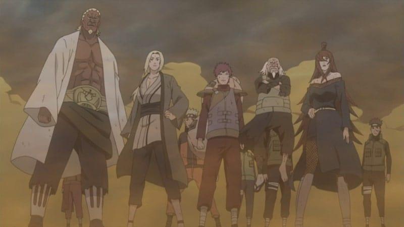 Naruto Shippūden Season 15 :Episode 323  The Five Kage Assemble