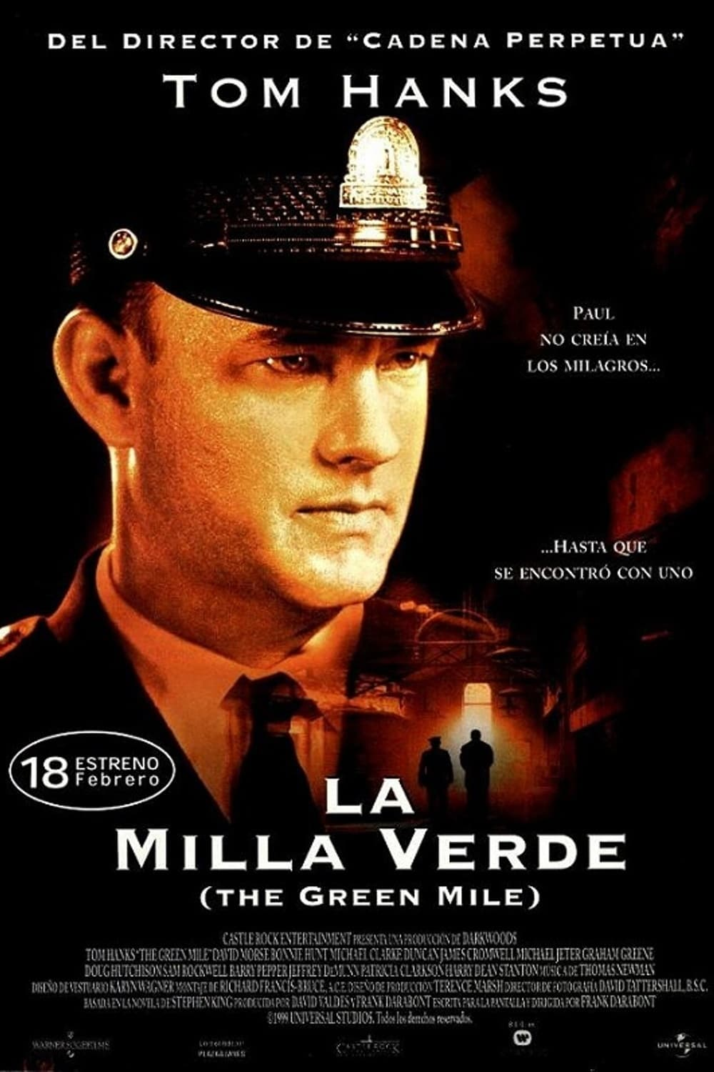 Poster and image movie Film Culoarul Mortii - Mila Verde - The Green Mile - The Green Mile -  1999