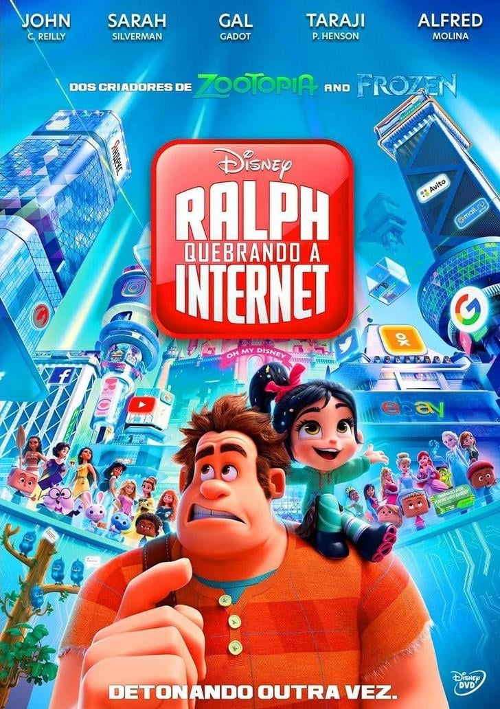 WiFi Ralph - Quebrando a Internet (2019) Torrent - BluRay Ultra HD 4K 2160p Dual Áudio 5.1 Download