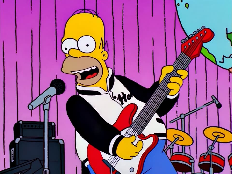 The Simpsons Season 14 :Episode 2  How I Spent My Strummer Vacation
