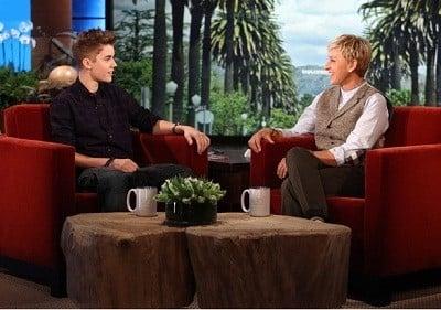 The Ellen DeGeneres Show Season 9 :Episode 37  Justin Bieber, Principal Sherrie Gahn