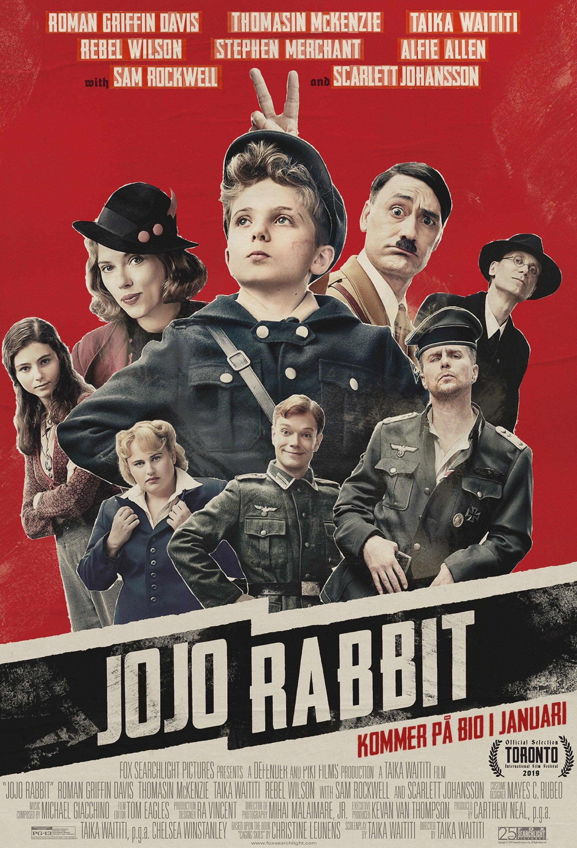 Poster and image movie Film Jojo Rabbit 2019