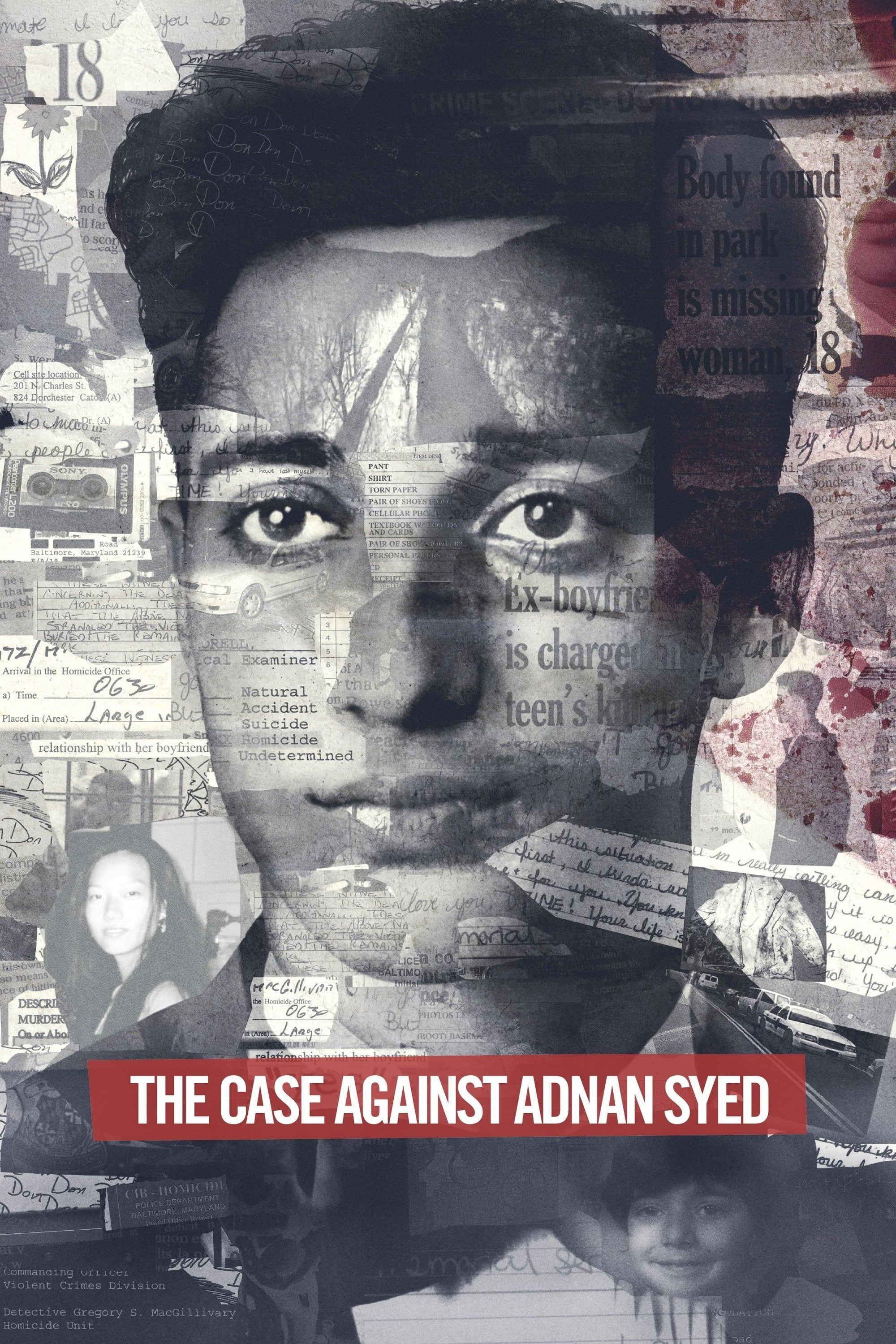 The Case Against Adnan Syed Poster