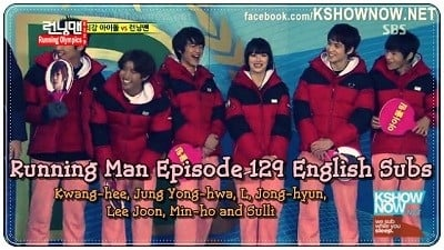 Running Man Season 1 :Episode 129  Running Winter Olympics