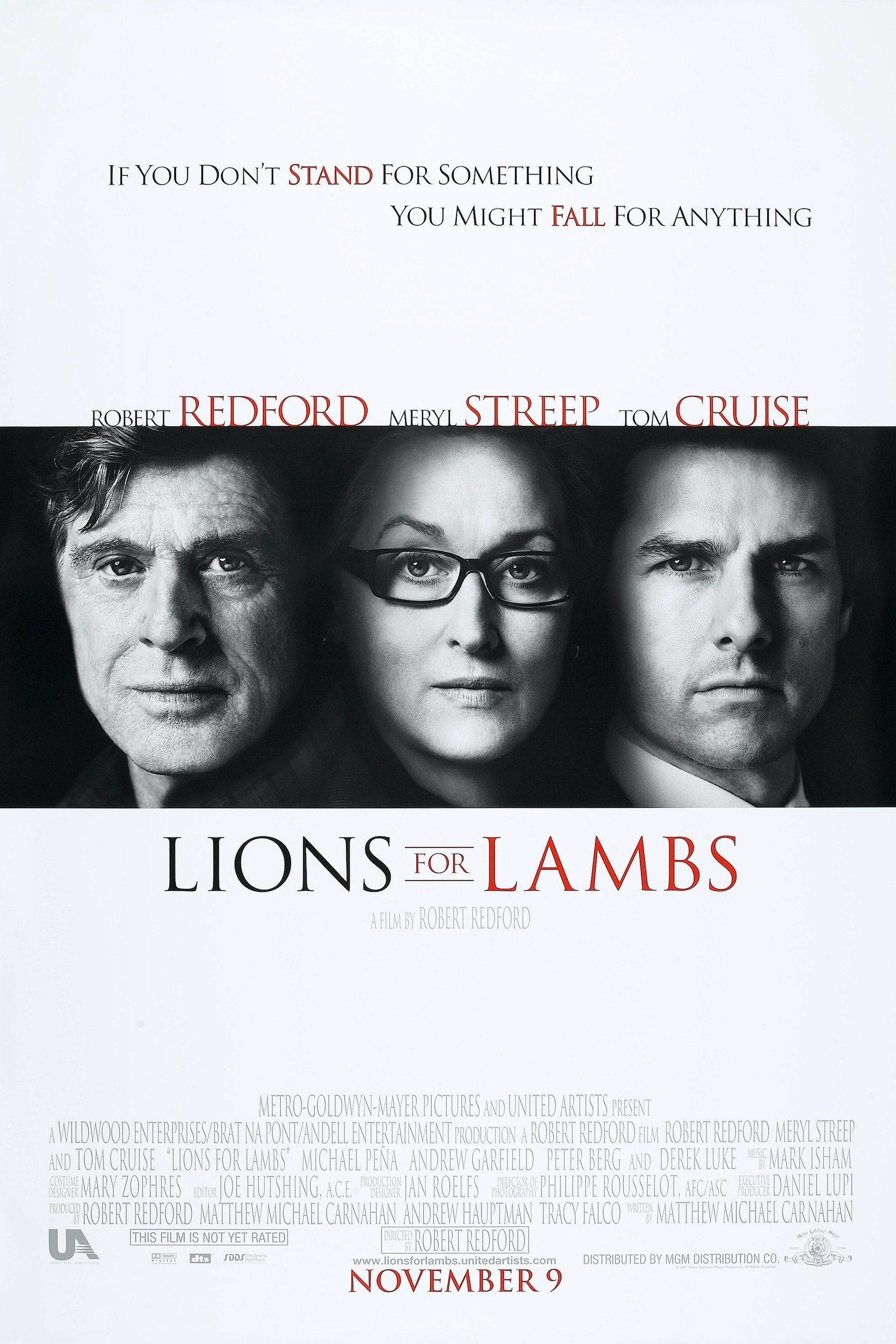 lions for lambs 2007 posters � the movie database tmdb