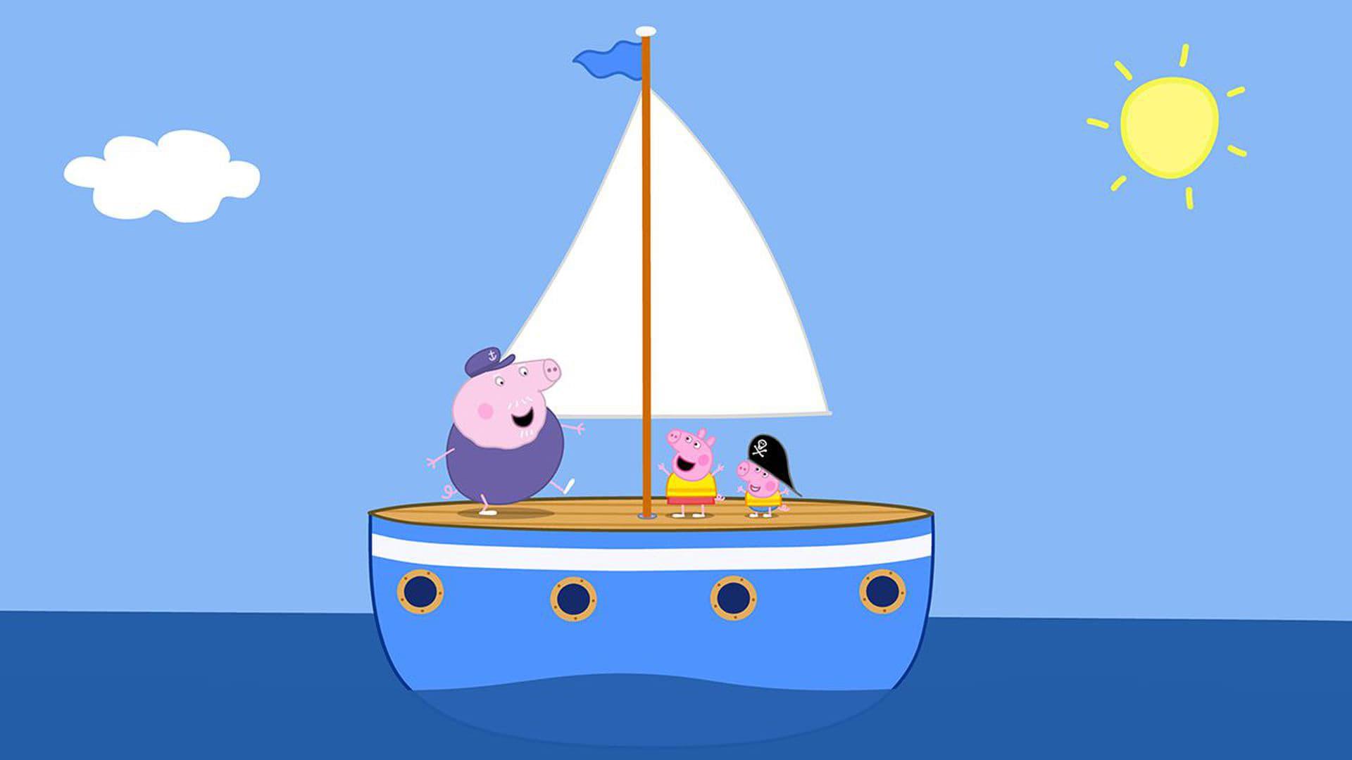 Peppa Pig Season 5 :Episode 29  Sailing Boat