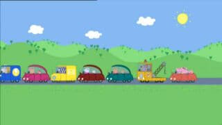 Peppa Pig Season 2 :Episode 33  Traffic Jam