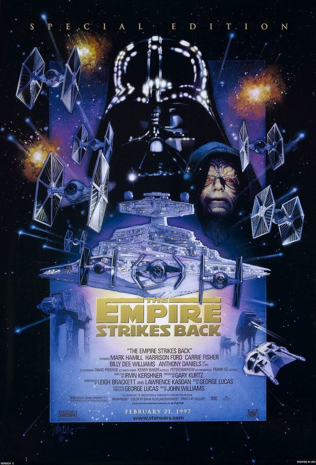 Ver Star Wars: Episode V – The Empire Strikes Back Online HD Español ()