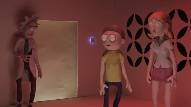 Rick and Morty Season 0 :Episode 4  Rick and Morty The Non-Canonical Adventures: Ex Machina