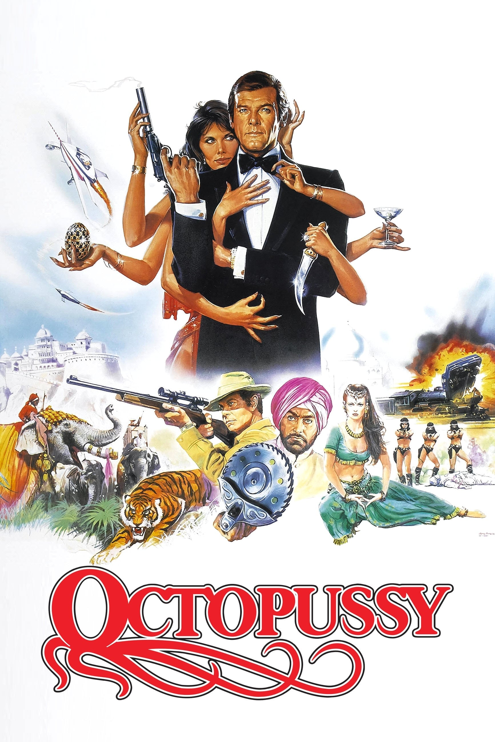 Octopussy (1983) - Posters — The Movie Database (TMDb)