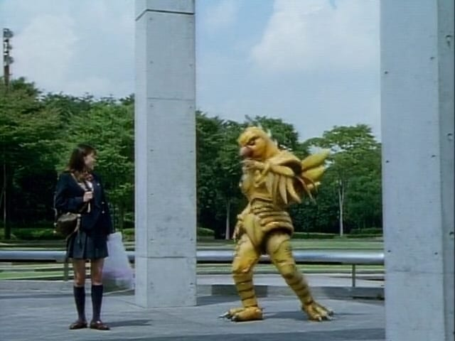 Super Sentai Season 21 :Episode 37  Why? Chisato Has an Old Man's Voice