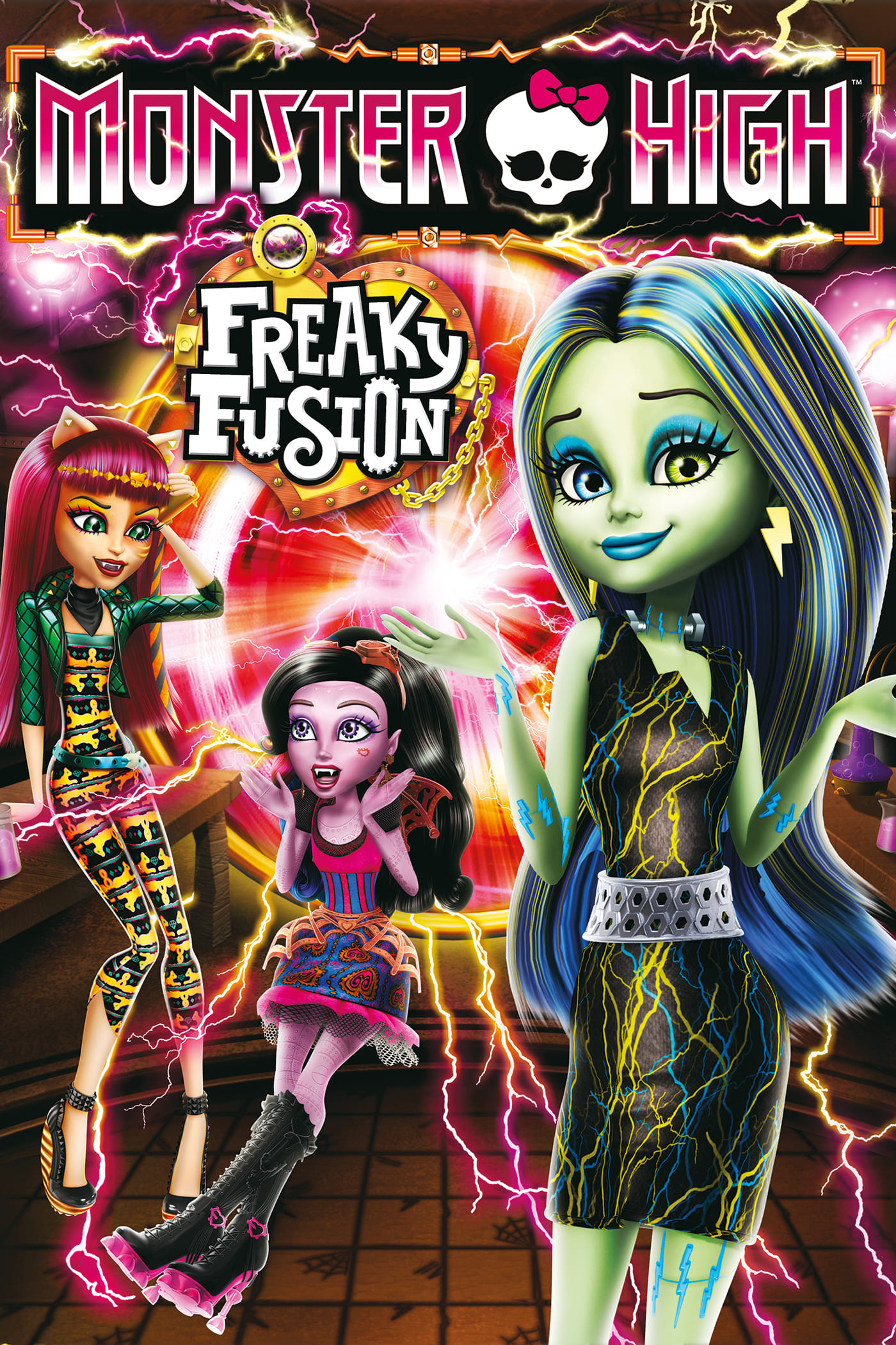 Monster High: Freaky Fusion (2014)
