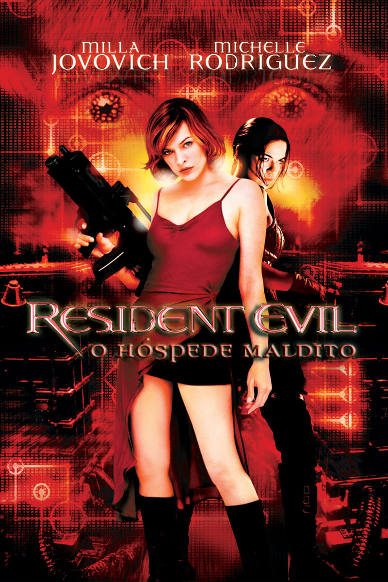 capa Resident Evil - O Hóspede Maldito