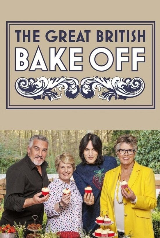 The Great British Bake Off TV Shows About Baking