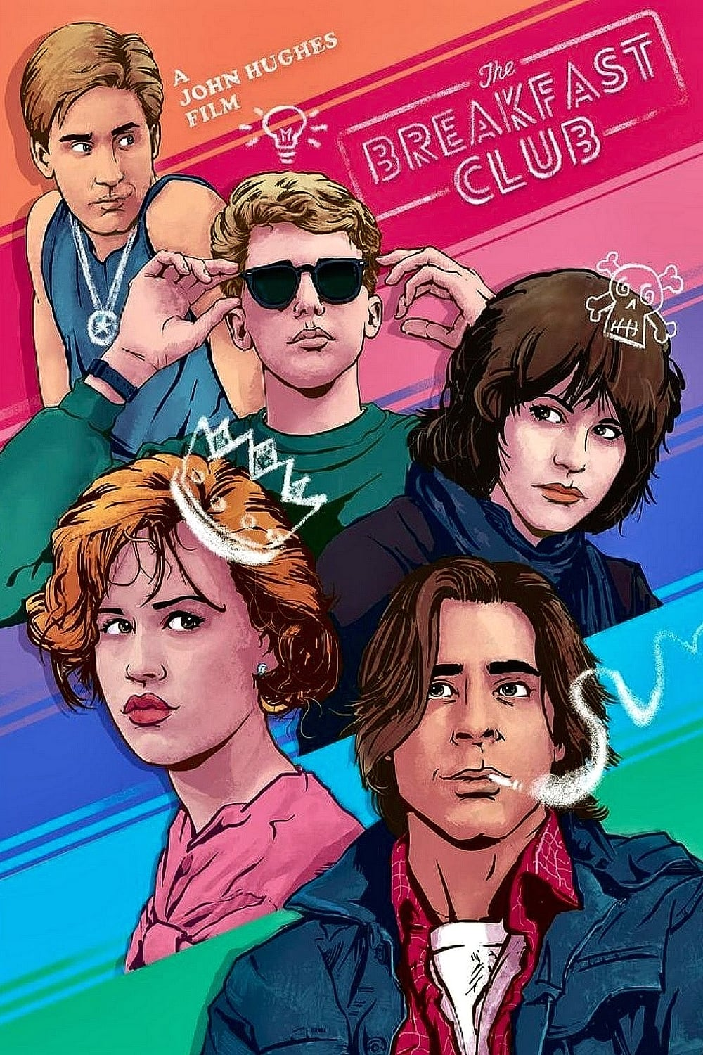 The Breakfast Club (1985) - Posters — The Movie Database ...