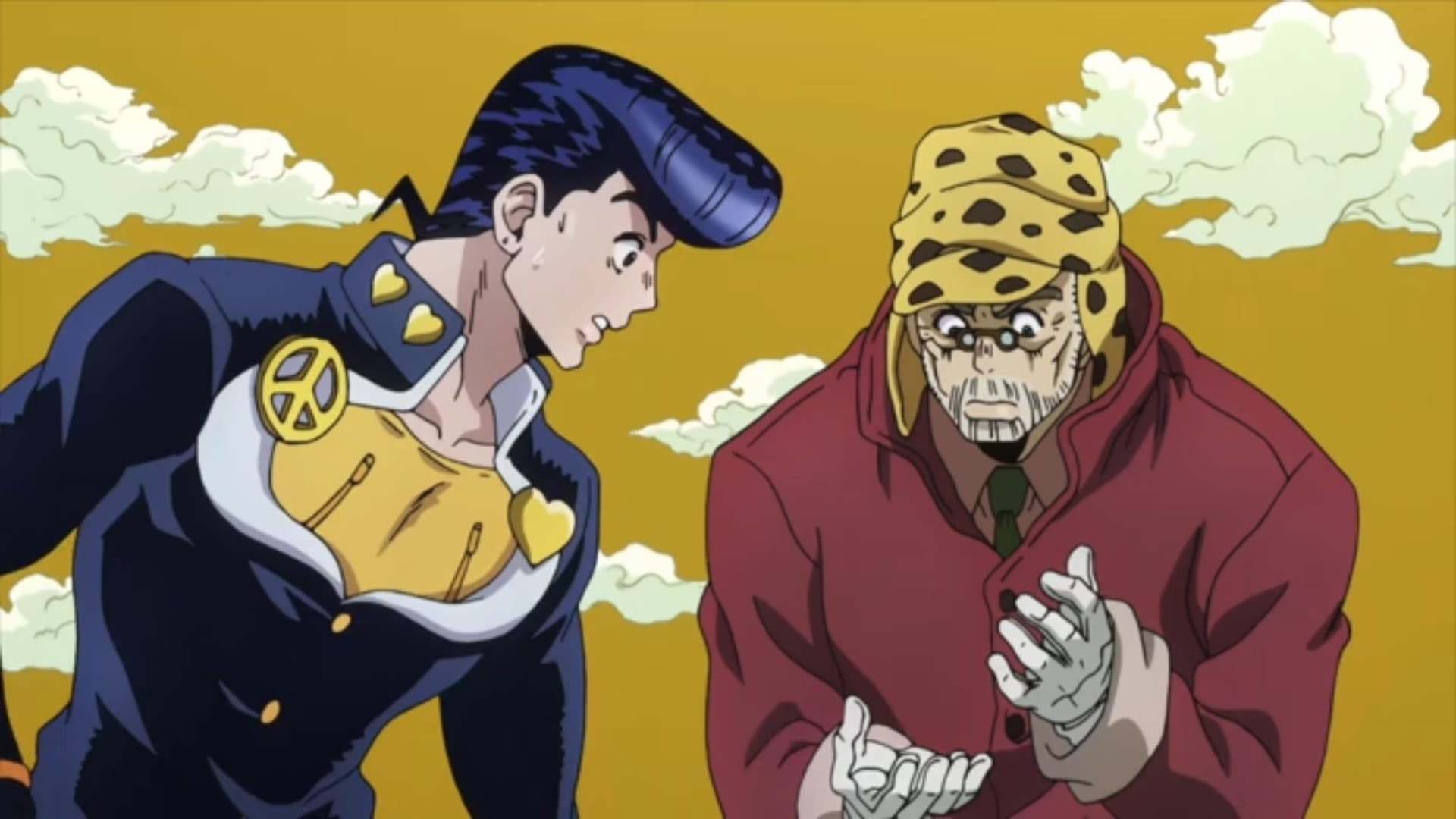 JoJo's Bizarre Adventure Season 3 :Episode 13  We Picked Up Something Crazy!