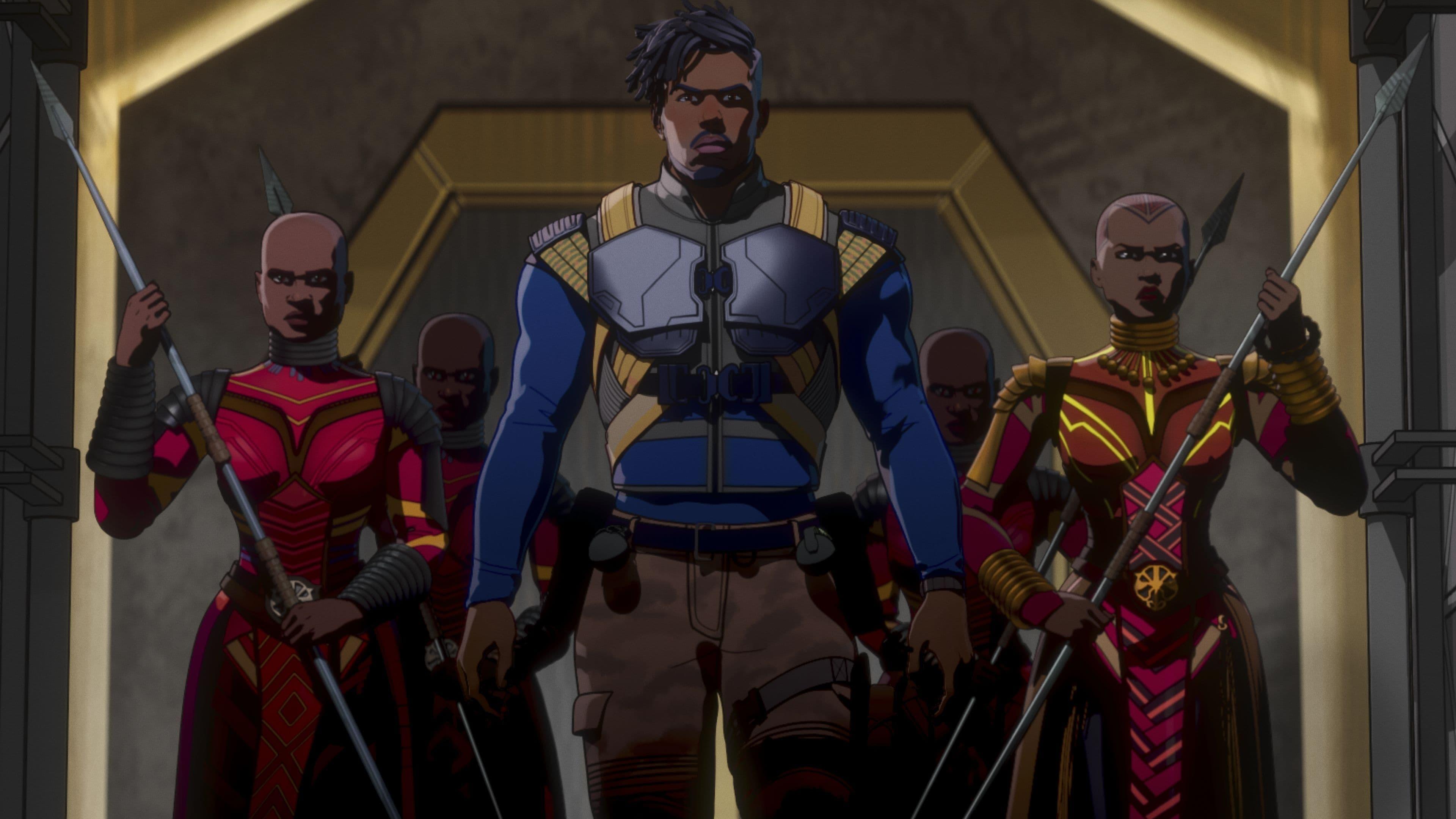 What If...? Season 1 :Episode 6  Was wäre, wenn... Killmonger Tony Stark gerettet hätte?