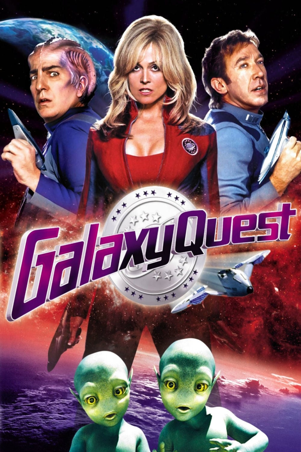Poster and image movie Film Batalia galactica - Galaxy Quest - Galaxy Quest -  1999