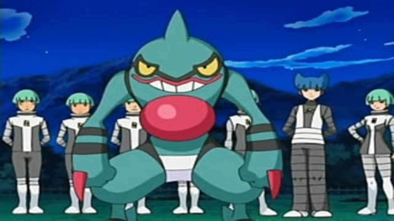 Pokémon Season 11 :Episode 17  Galaktisch böse – Team Galaktik!