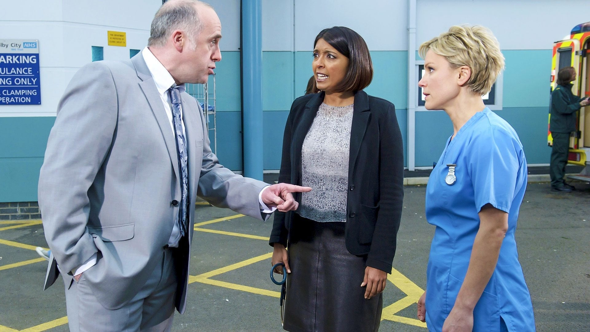 Casualty Season 28 :Episode 40  The Dying Game