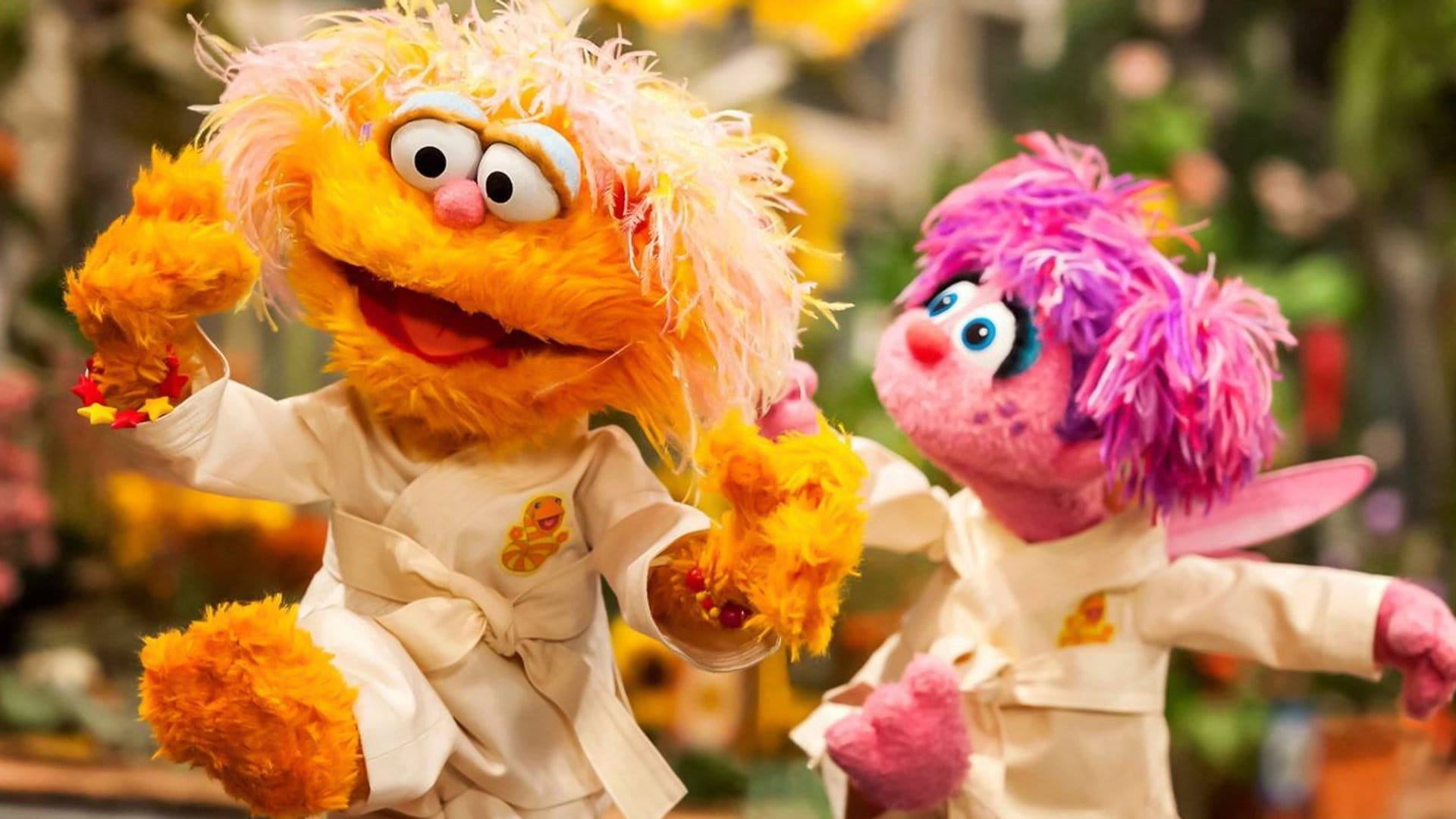 Sesame Street Season 48 :Episode 32  Abby and Zoe Love Karate