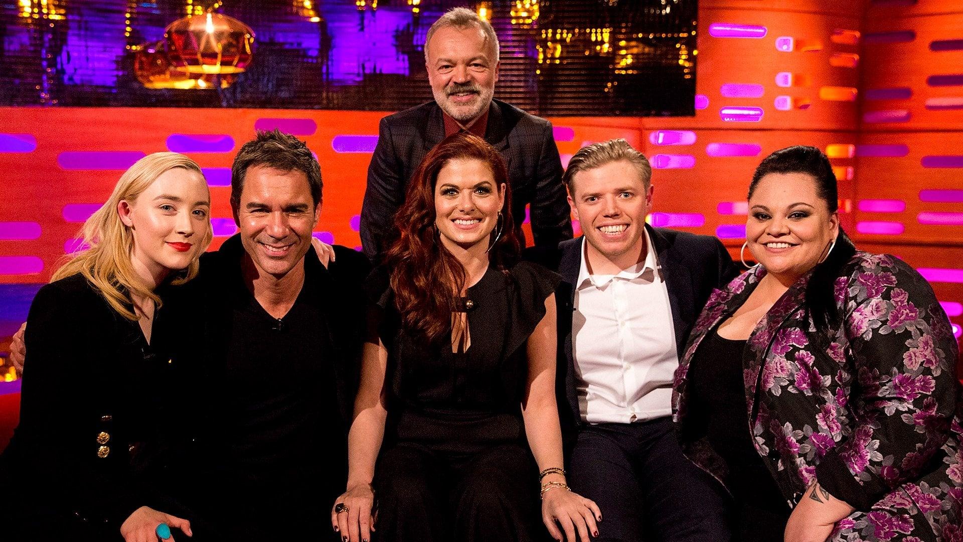 The Graham Norton Show Season 22 :Episode 17  Saoirse Ronan, Eric McCormack, Debra Messing, Rob Beckett, Keala Settle