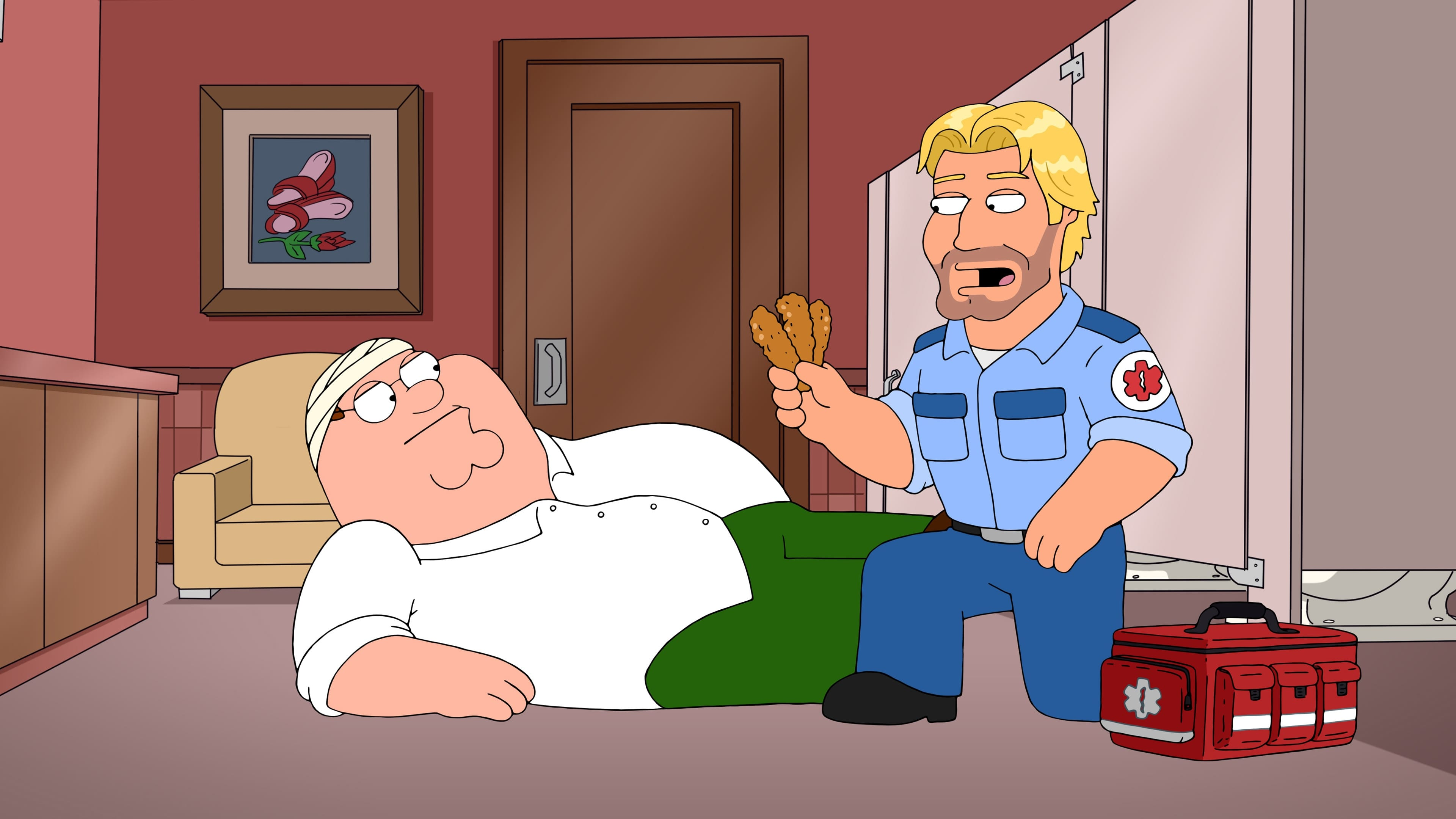 Family Guy - Season 16 Episode 2 : Foxx in the Men House