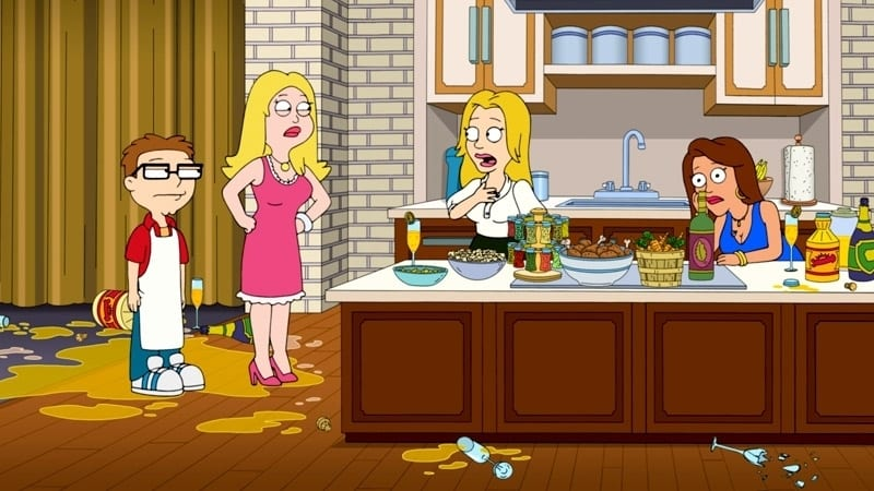 American Dad! Season 12 :Episode 8  Morning Mimosa