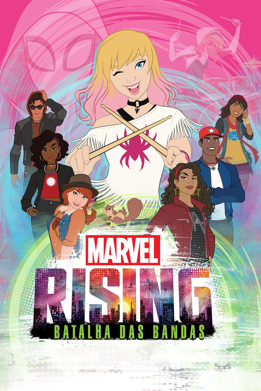 Marvel Rising – Batalha das Bandas Legendado