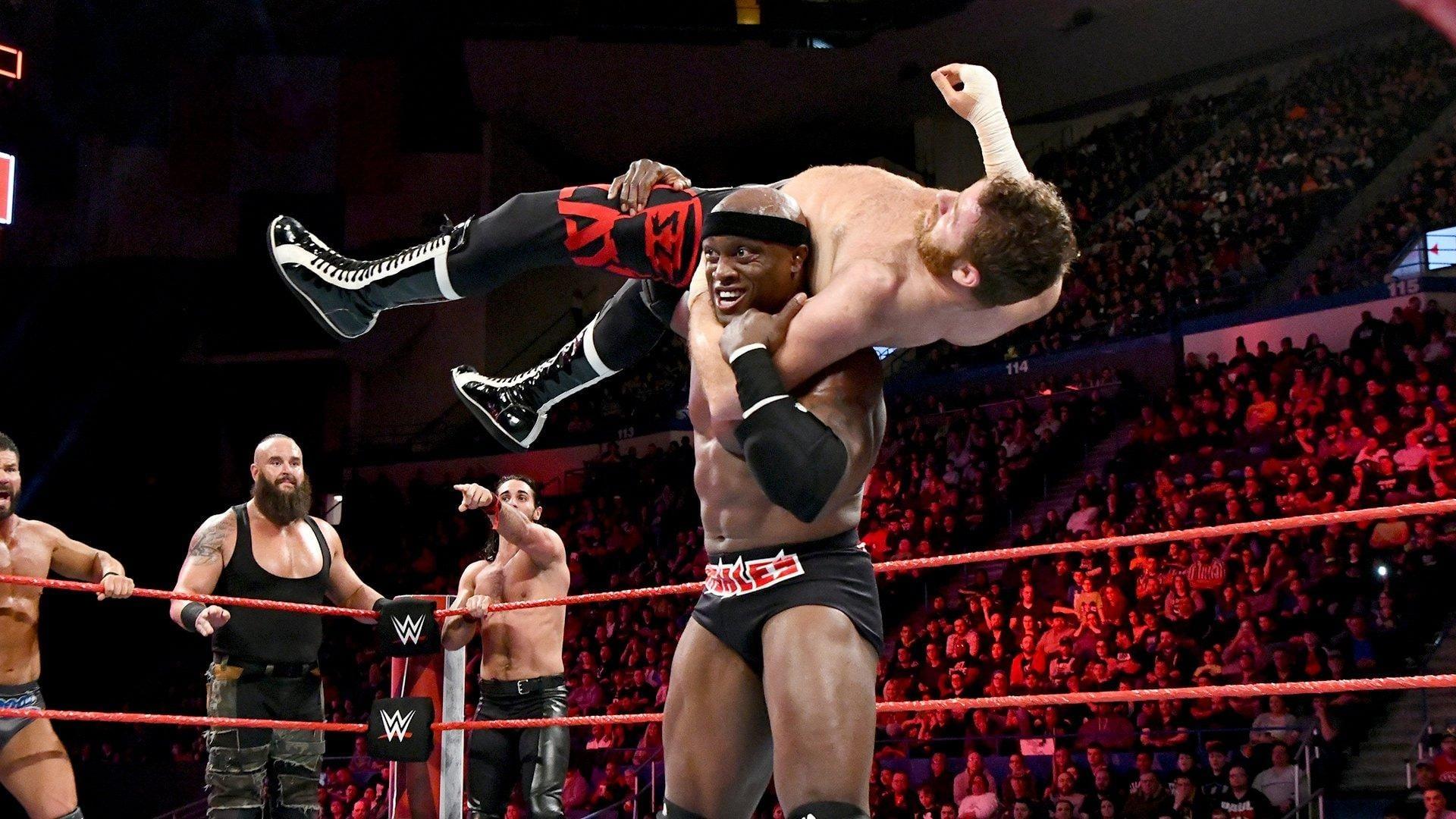 WWE Raw - Season 26 Episode 16 : April 16, 2018 (Hartford, CT) (1970)