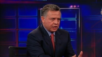 The Daily Show with Trevor Noah Season 17 :Episode 155  King Abdullah II