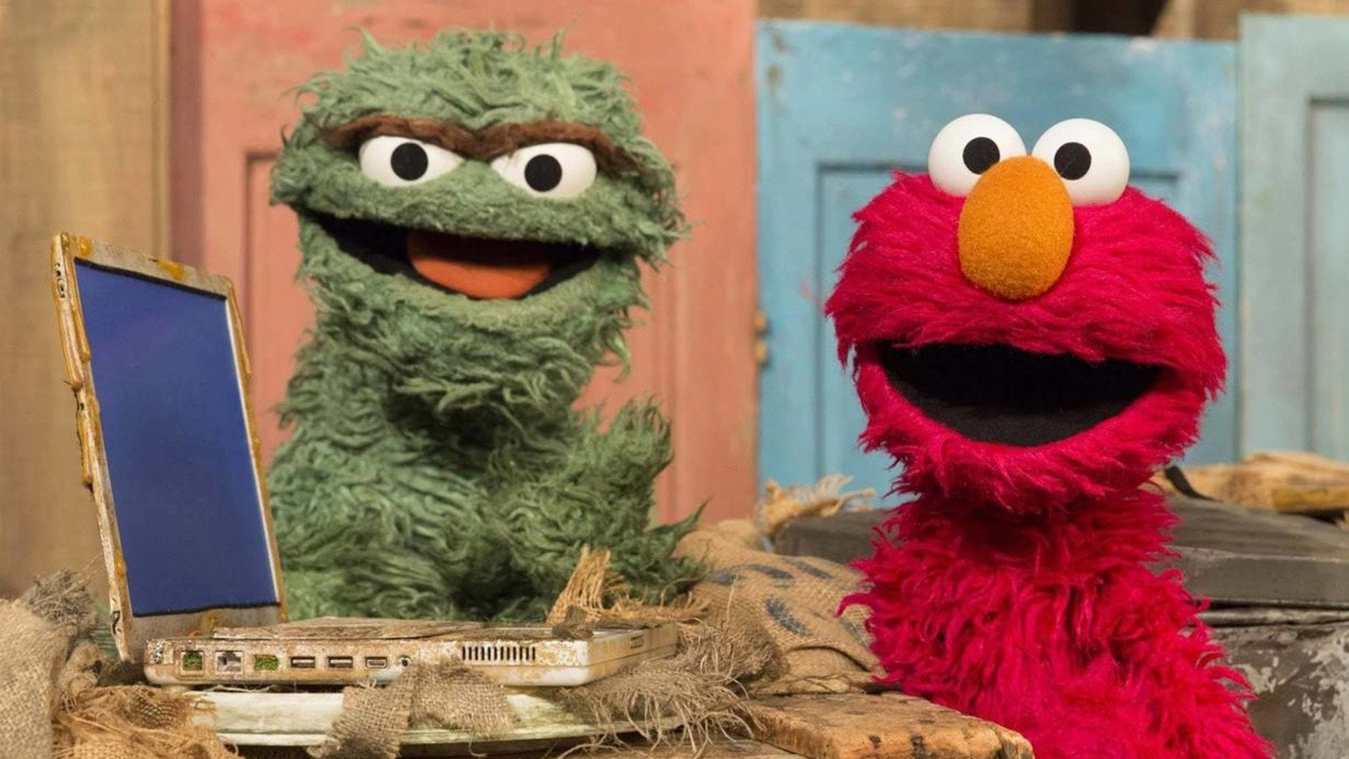 Sesame Street Season 45 :Episode 17  Elmo the Grouch