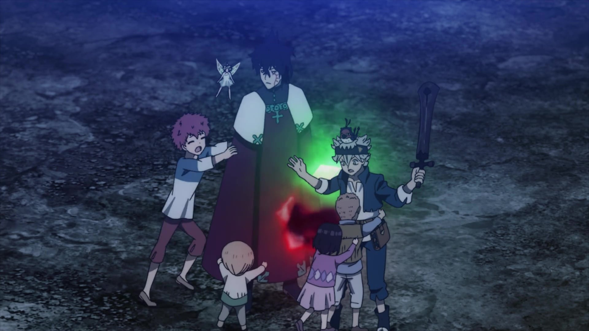 Black Clover Season 1 :Episode 103  Release from Misfortune