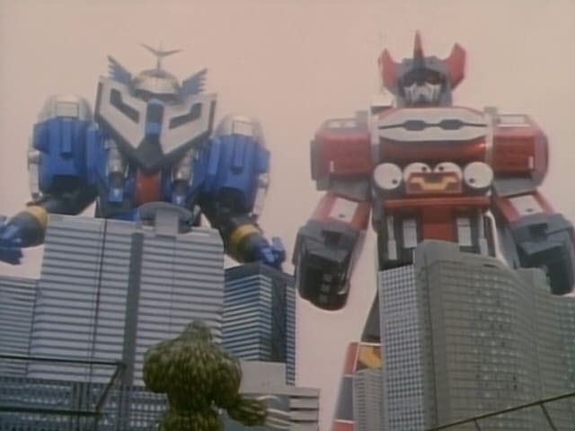 Super Sentai Season 22 :Episode 30  Star-Beasts of Steel
