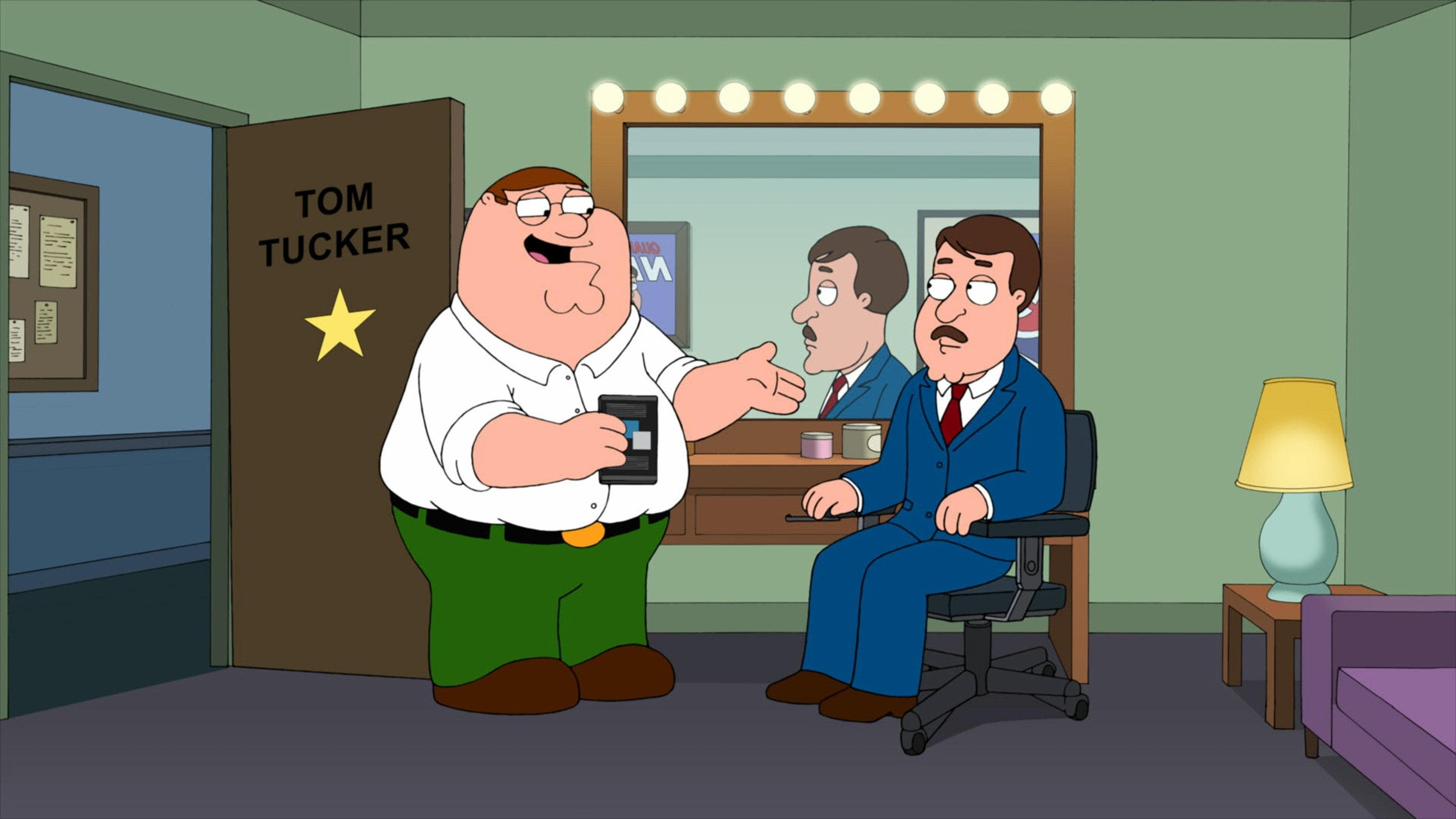 Family Guy - Season 10 Episode 13 : Tom Tucker: The Man and His Dream