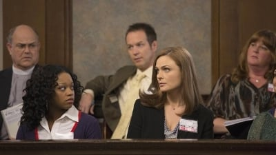 Bones Season 9 :Episode 9  The Fury in the Jury