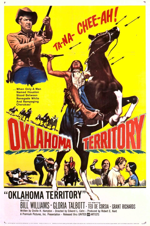 oklahoma territory 1960 posters the movie database tmdb. Black Bedroom Furniture Sets. Home Design Ideas