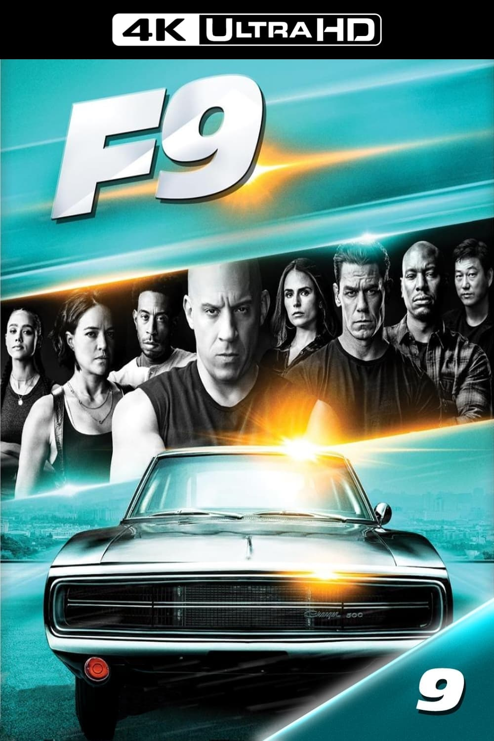 Poster and image movie F9