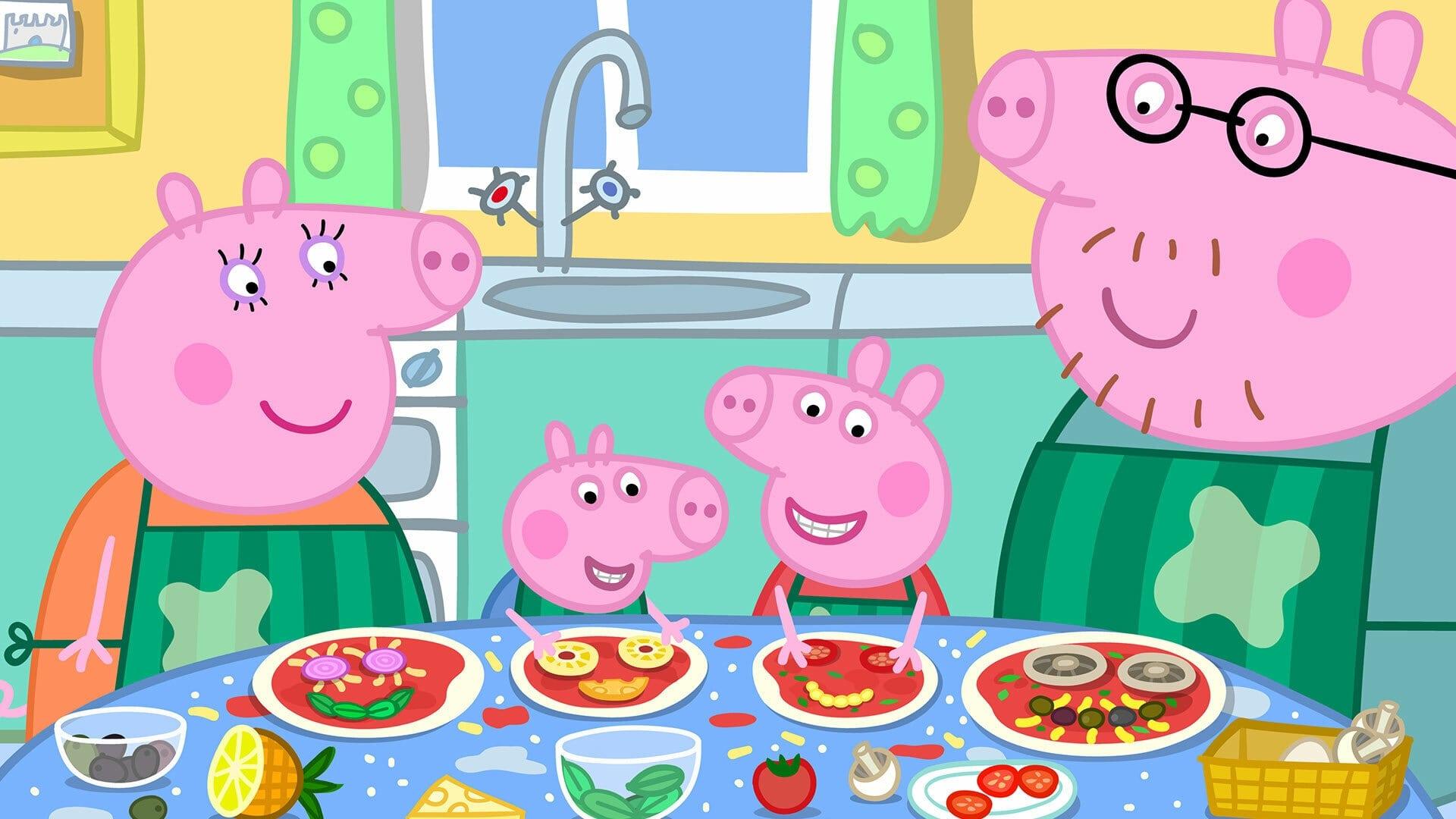 Peppa Pig Season 6 :Episode 19  Pizza! Pizza!