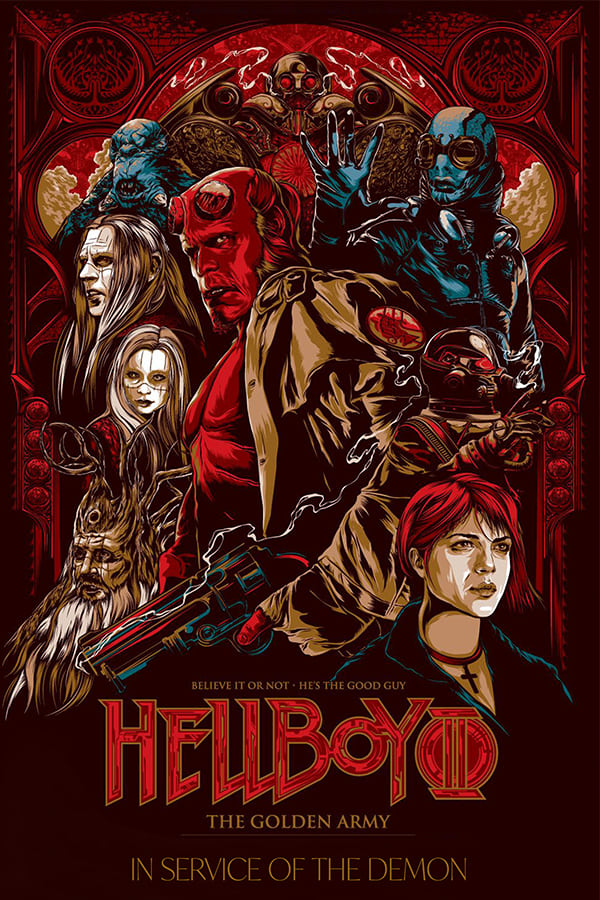 Hellboy: In Service of the Demon (2008)