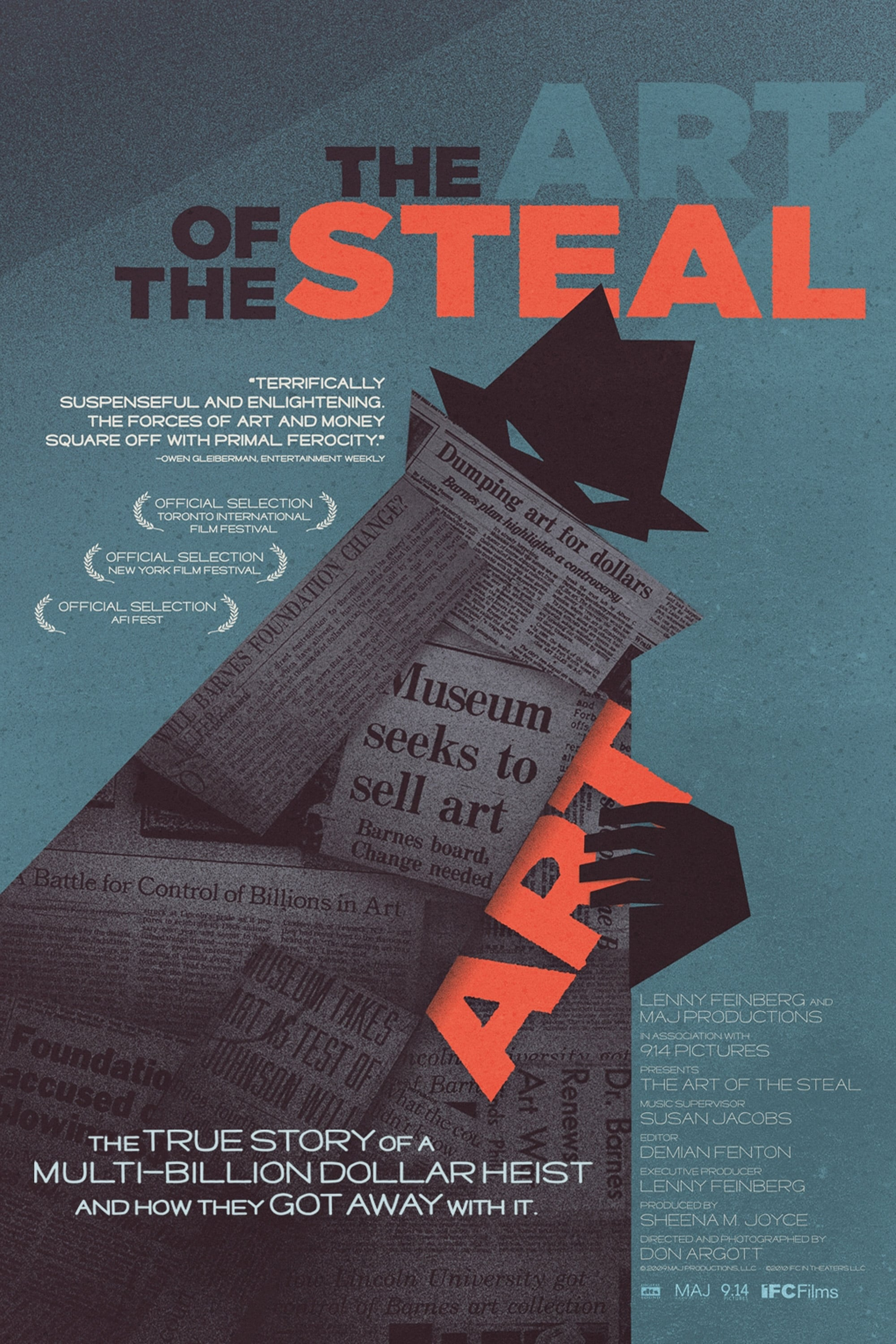 The Art of the Steal (2010)